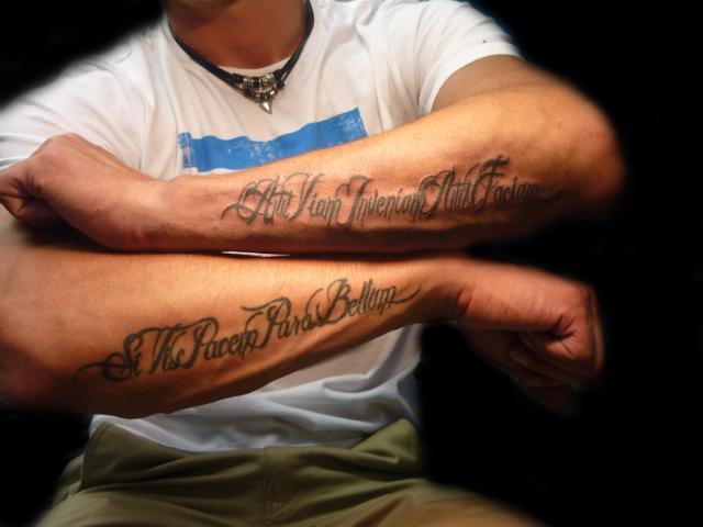 Tekst Tattoos